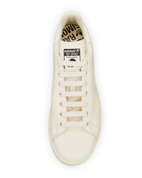 Men's Stan Smith Leather Low-Top Sneakers, Creme