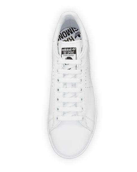 Men's Stan Smith Leather Low-Top Sneaker, White