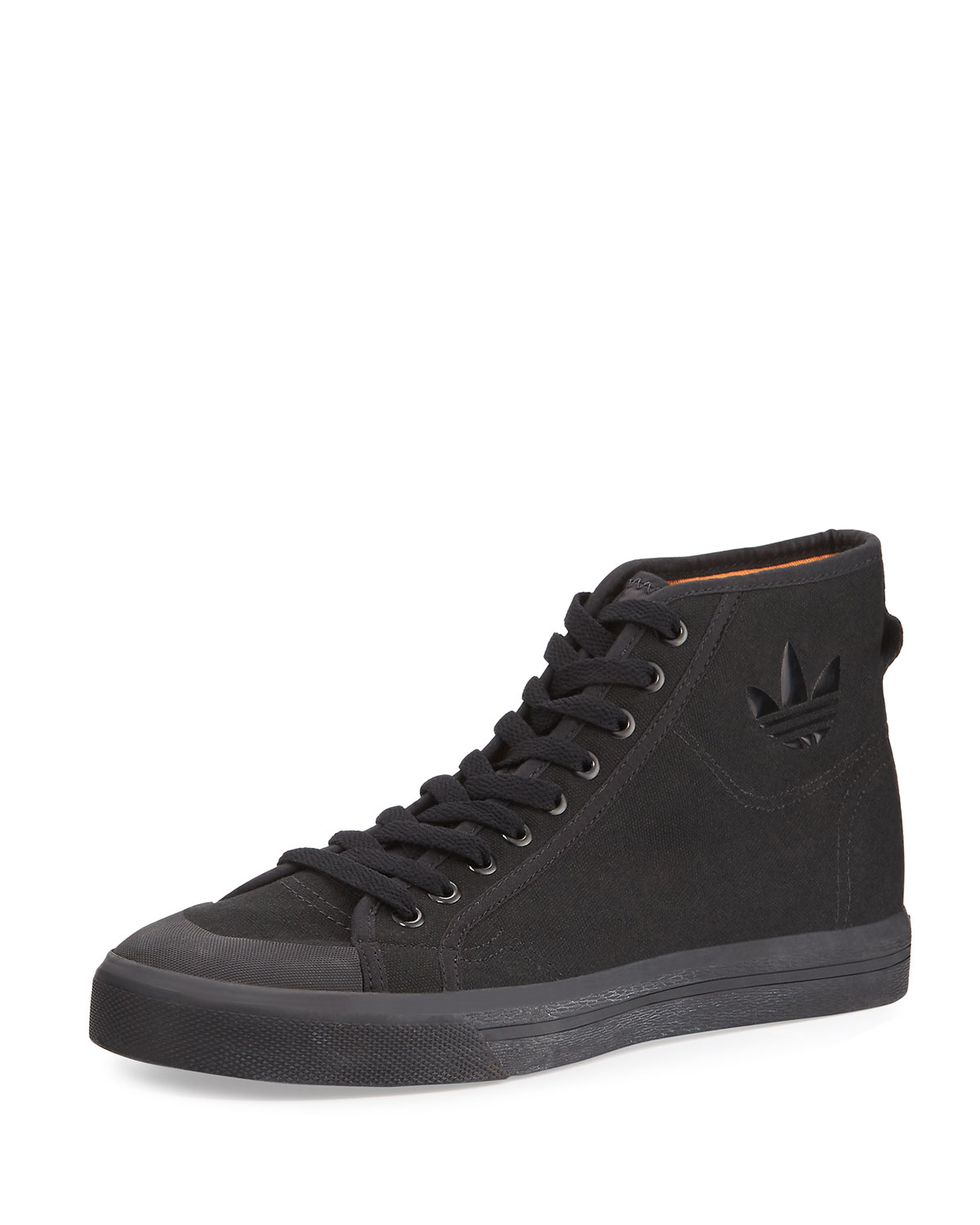 9ec00645dec536 adidas by Raf Simons Men s Spirit Canvas High-Top Sneakers