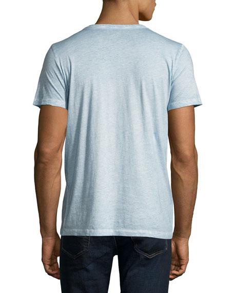 Cotton Mélange Crewneck T-Shirt