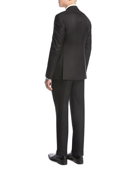 Giorgio Armani Soft Basic Two-Piece Suit, Black