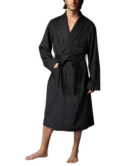 neiman marcus cashmere robe charcoal neiman marcus