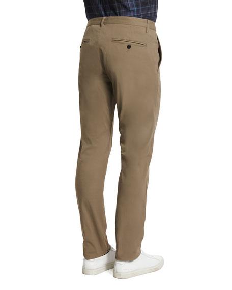 Zaine Slim Straight-Leg Pants