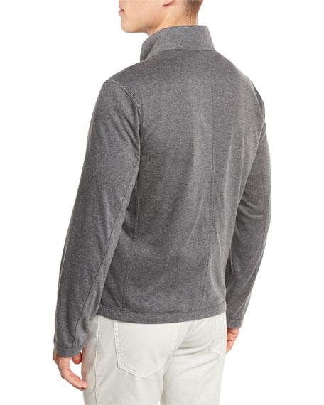 Reversible Microfiber Blouson Jacket