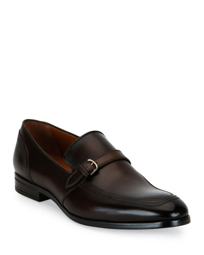 Lavoli Leather Loafer  Brown