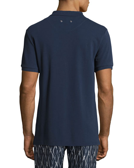 Palan Cotton Pique Polo Shirt