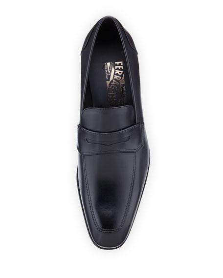Men's Leather Penny Loafer