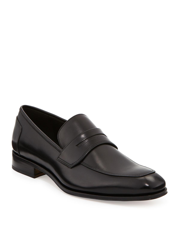 57763069539 Salvatore Ferragamo Men s Leather Penny Loafer