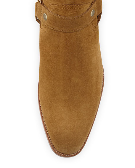 Wyatt Suede Harness Boot
