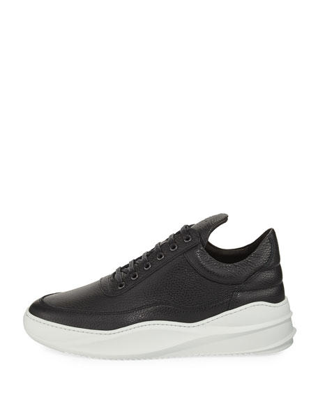 Men's Sky Low-Top Leather Sneakers