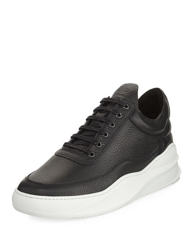 Sky Low-Top Leather Sneaker