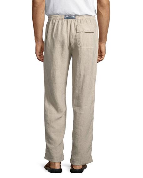 Pacha Drawstring Linen Pants
