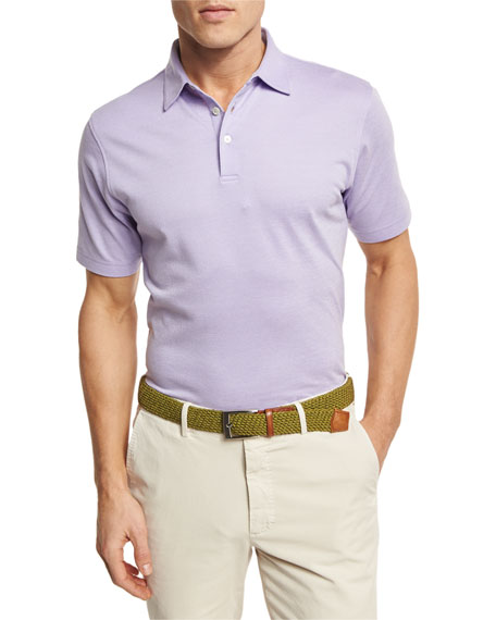 The Perfect Piqué Polo Shirt