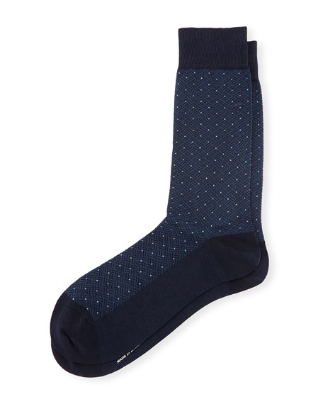 Sanford Dot Dress Socks