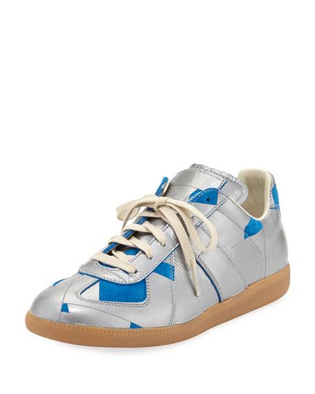 Maison Margiela Men's Replica Duct-Tape Low-Top Sneaker,