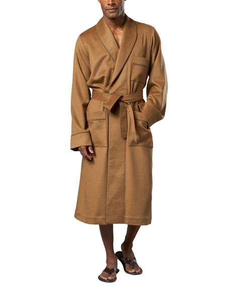 Neiman Marcus Cashmere Robe, Camel
