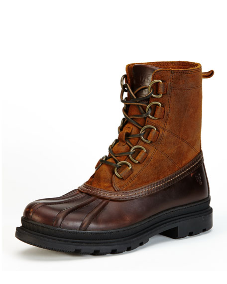 Frye Riley D-Ring Lace-Up Duck Boot
