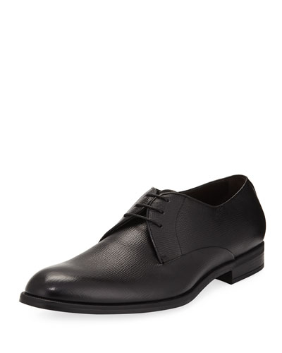 BLK CALF DERBY
