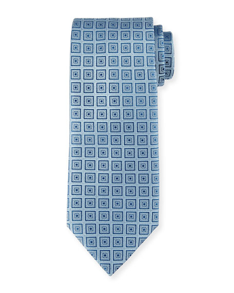 Box Neat Silk Tie