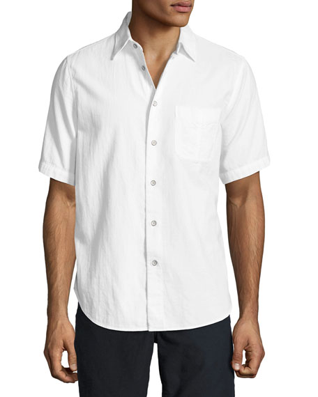 Men's Standard Issue Short-Sleeve Beach Shirt