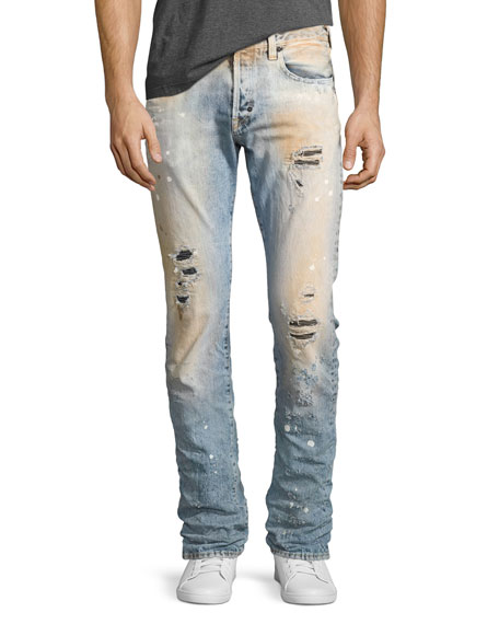 PRPS Demon Sculpt Wash Slim-Fit Denim Jeans