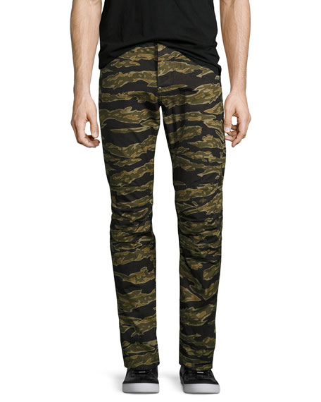G-Star Tiger Camouflage Skinny Pants, Green