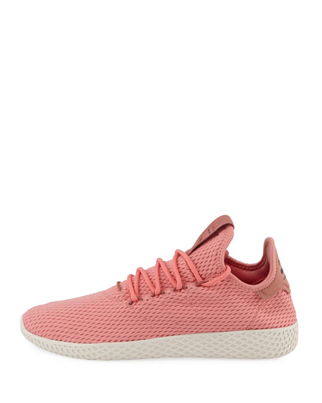 x Pharrell Williams Men's Hu Race Tennis Sneakers, Pink