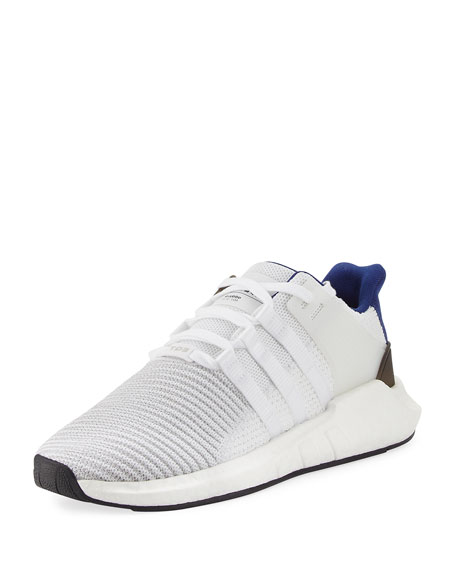Adidas Men's EQT Support ADV 93-17 Sneakers, White/Blue