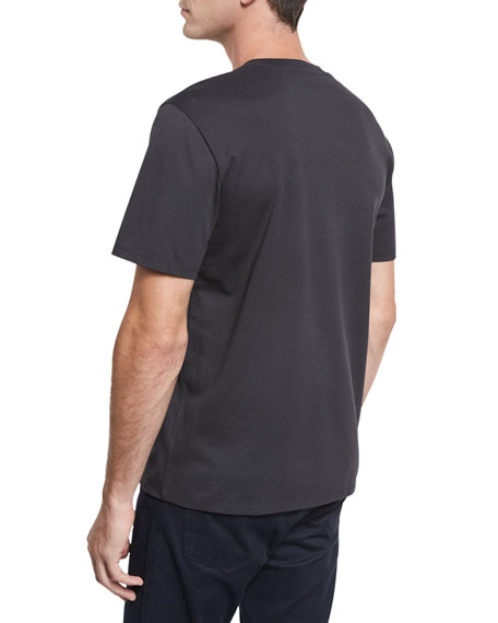 Mercerized Cotton Crewneck T-Shirt