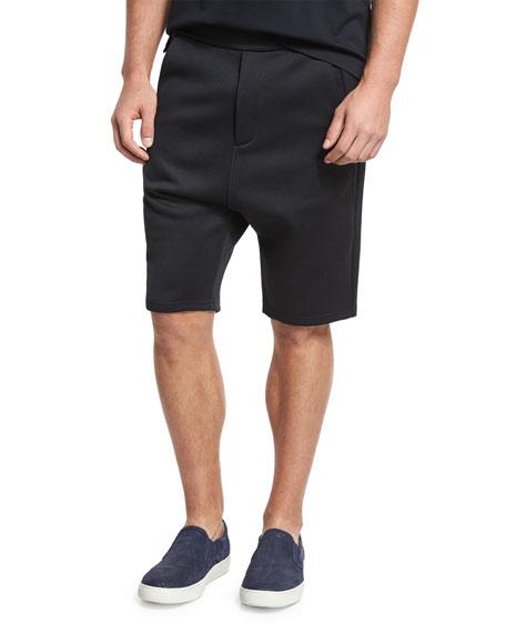 Vince Drop-Rise Shorts, Black