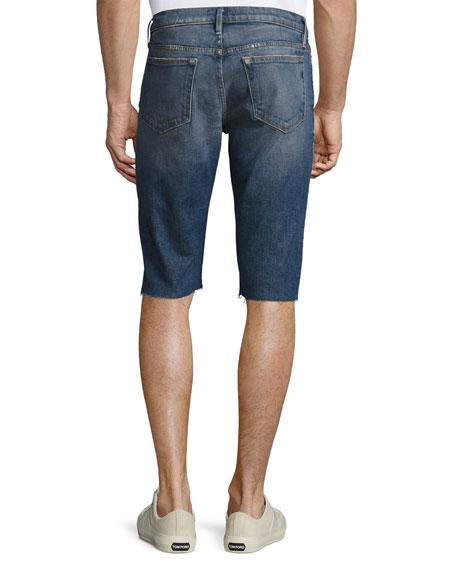 L'Homme Cutoff Jean Shorts, Shiloh