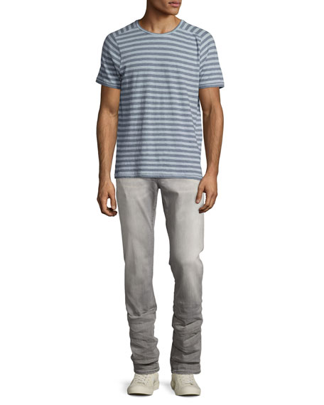 Wight Slim-Straight Jeans, Gray