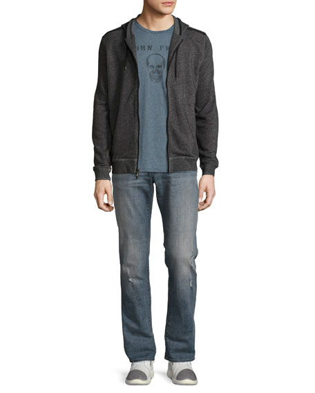 Bowery Slim-Straight Jeans, Blue