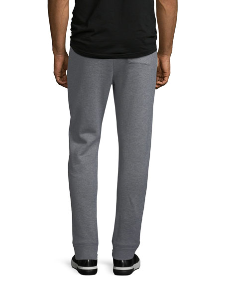 Men's Heathered-Knit Cotton Sweatpants