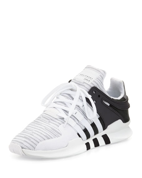 Adidas Men's EQT Support ADV Sneaker, White/Black