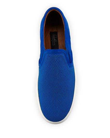 Men's Caidan Beaded Suede Slip-On Sneaker
