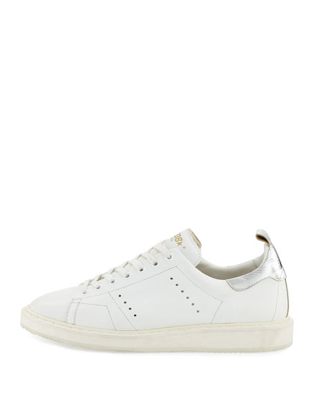 Golden Goose Men's GGDB STARter Low-Top Sneaker, White