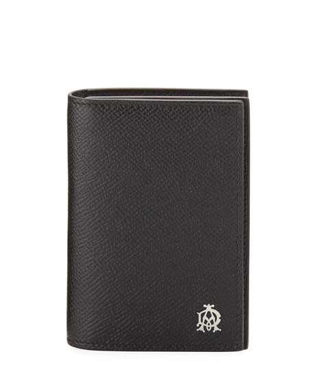 dunhill Cadogan Business Card Case, Black