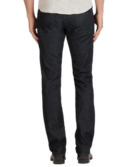 Men's Kane Clean Wash Straight-Leg Denim Jeans, Hirsch