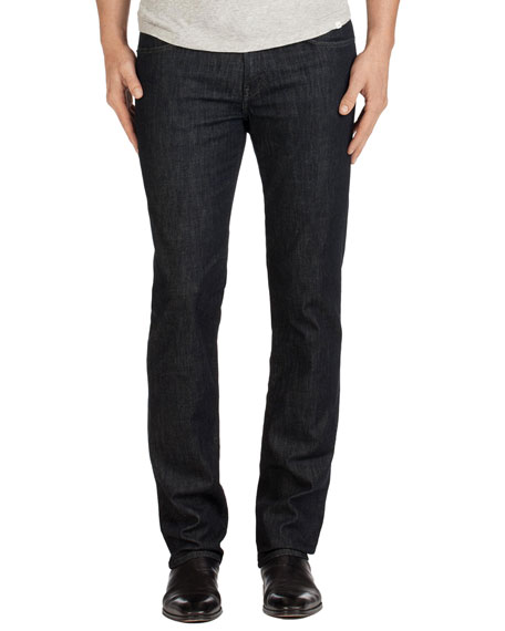 Men's Kane Clean Wash Straight-Leg Denim Jeans, Hirsch