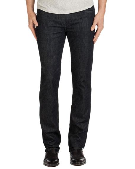 J Brand Kane Clean Wash Straight-Leg Denim Jeans,