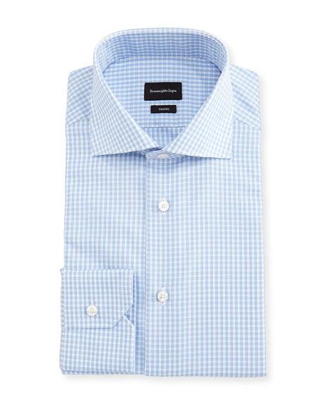 Trofeo® Check Cotton Dress Shirt