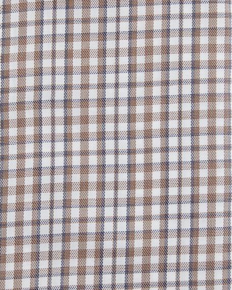 Ermenegildo Zegna Check Cotton Dress Shirt