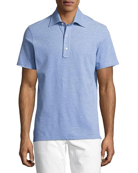 Pique Cotton Polo Shirt