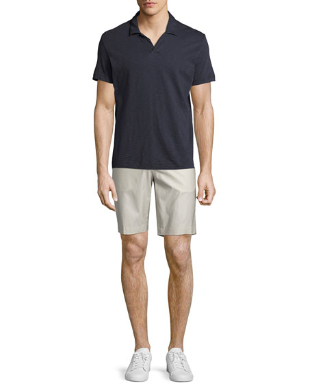Jake W. Reverse Sateen Tailored Shorts