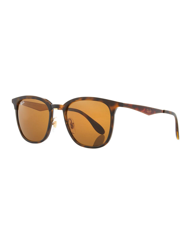 d4134baec12 Ray-Ban Men s RB4278 Square Sunglasses
