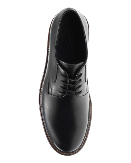 Wolverine Luke Leather Oxford Shoe, Black
