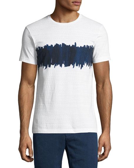 Orlebar Brown Sammy Painted-Stripe T-Shirt