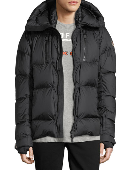 Moncler Grenoble Collection Valloire Down Jacket, Black