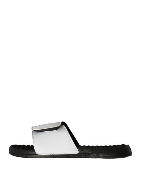 NBA Retro Legends Allen Iverson #3 Jersey Slide Sandal, White